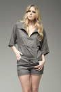 Charcoal-gray-tencel-romper-t-by-alexander-wang-romper