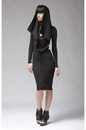black Kimberly Ovitz dress