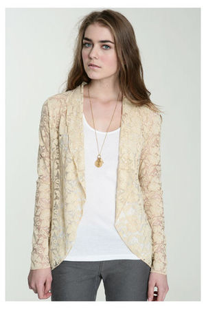 beige Urban Outfitters jacket