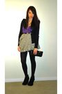 Black-h-m-sweater-purple-forever-21-top-white-h-m-skirt-black-marc-by-marc