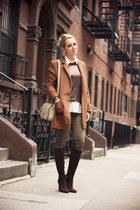 dark brown Georgia Rose boots - tawny nowIStyle coat