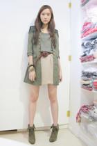 The Ramp coat - Forever 21 top - Forever 21 skirt - Zara belt - Zara shoes