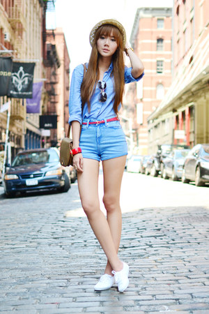 sm accessories bracelet - Gucci sunglasses - Keds sneakers