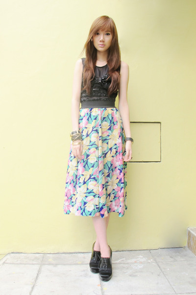 Coexist httpcoexistonlinemultiplycom top - Hong Kong skirt - lanvin shoes - Mich