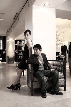 Siren shoes - Zara dress