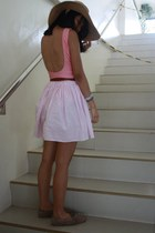 bubble gum American Apparel dress