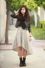 Black-jcpenney-boots-heather-gray-macys-dress-black-h-m-jacket