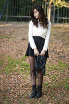 black pearl studded OASAP skirt