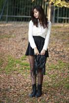 black pearl studded OASAP skirt