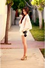 Ivory-chicwish-shorts-brown-camerasbagstraps-accessories