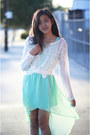 Aquamarine-forever-21-dress-sky-blue-bar-coat