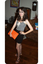 black forgot something from Marshalls top - black American Apparel skirt - black