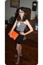 black forgot something from Marshalls top - black American Apparel skirt - black