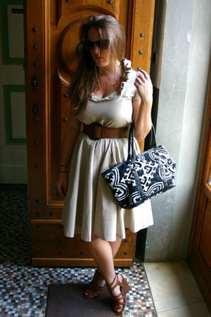 Zara dress - Ninewest shoes - Jcrew purse