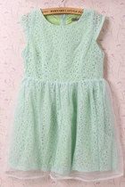 lime green beckybwardrobe dress