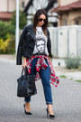 Navy-boyfriend-jeans-zara-jeans-black-leather-zara-jacket