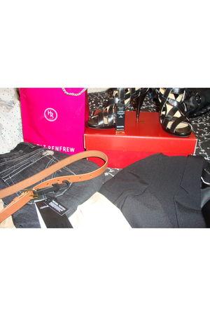 black William Rast jeans - black Velika shoes - orange Coco Chanel Lipstick acce