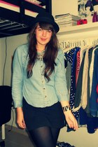 H&M hat - Primark shirt - Primark skirt - Ebay necklace