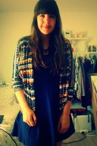 Forever 21 cardigan - H&M dress