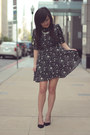 Black-star-print-asos-dress-silver-tj-designs-necklace
