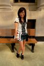 White-forever-21-blouse-blue-wet-seal-shorts-black-forever-21-shoes-gold-f
