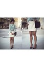 Black-zara-bag-ivory-united-colors-of-benetton-skirt-aquamarine-zara-blouse
