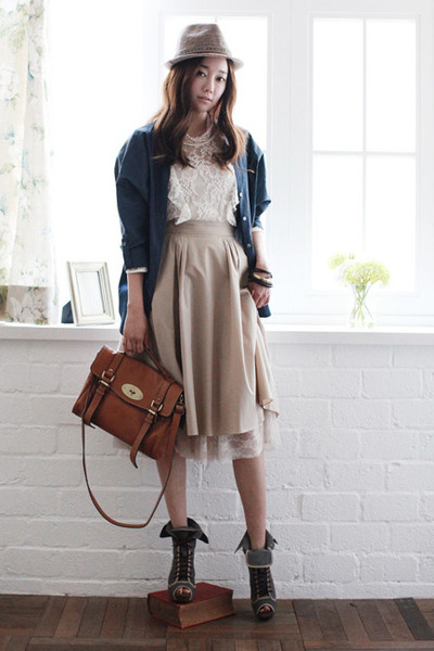 brown faux leather bag - light brown leather bag