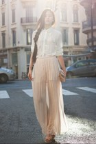sheer maxi dress 