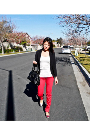 J Brand jeans - Marc by Marc Jacobs bag - Lucky Brand flats