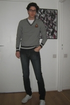 Ralph Lauren top - Keds shoes - Cheap Monday jeans