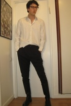 Zara shirt - Zara pants - Secondhand boots