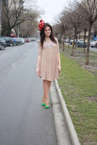 theITemco dress - fandacsia hat - Zara pumps
