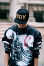 Black-choies-sweatshirt-black-vintage-boots-black-boy-cap-choies-accessories