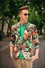 Zara-blazer-h-m-t-shirt