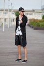 Black-slipon-f-f-shorts-black-leather-shorts-guylook-shorts