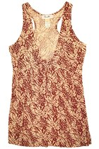 Animal Print Dress (Brown)