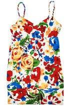 Summer Beach Dress (Red/Yellow/Blue)