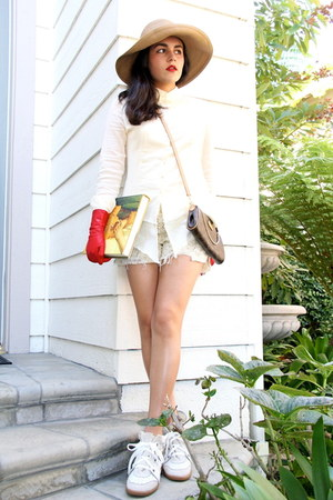 All Saints shirt - Louis Vuitton bag - free people shorts