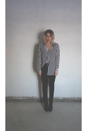 shirt - heels