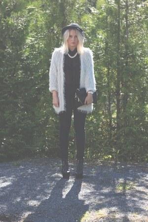 jacket - necklace
