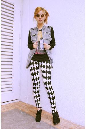 chessboard Chemical Dreams Clothing leggings - Chemical Dreams Clothing top