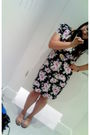 Black-dorothy-perkins-dress-black-accessorize-accessories-white-unbranded-sh