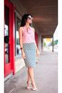 Red-striped-blouse-jcrew-blouse-navy-polka-dot-skirt-jcrew-skirt