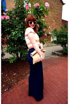 American Apparel bag - Anthropologie pants - Anthropologie top