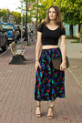 Black-american-apparel-top-dark-gray-chloe-skirt