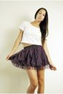 Purple-skirt