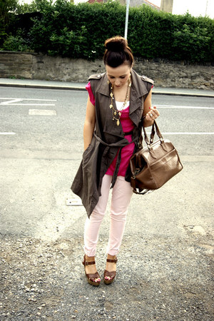 whistles jeans - All Saints jacket - Topshop bag - new look heels - Zara t-shirt
