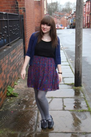 Forever 21 dress - navy Topshop cardigan