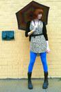 Black-soda-boots-white-forever-21-dress-blue-h-m-leggings