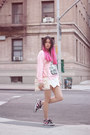 Light-pink-3mongkis-sweater-ivory-zara-bag-white-zara-shorts